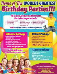 glow in dark invitations birthday parties usa u0027s skateland of mesa az roller u0026 inline