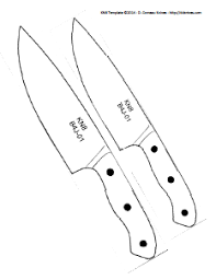 Kitchen Knife Designs 29 Images Of Knife Blank Template Tonibest
