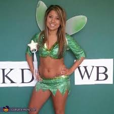 Halloween Costumes Tinkerbell Tinkerbell Halloween Costume Homemade Tinkerbell Costume