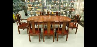 07 may 2015 chinese furniture asian works of art lot 225a 1940s chinese rosewood dining set 8 chairs table lot 225a 1940s chinese rosewood dining set 8 chairs table