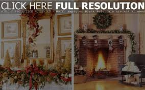 fireplace mantel decorations for christmas christmas craft