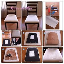 Reupholster Dining Room Chair Diy Best Dining Room Chair Cushion - Diy dining room chairs