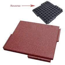 interlocking rubber deck paver specify color 24 x 24 x 2 inch