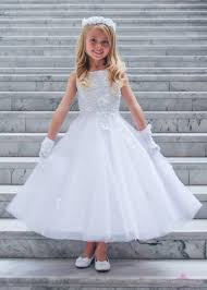 where to buy communion dresses ballerina communion dress with floral bodice