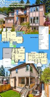 northwest style house plan distinctive cutting edge contemporary