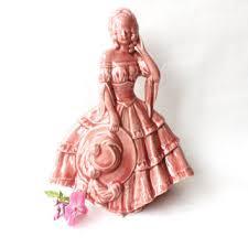 Home Interior Angel Figurines Shop Vintage Lady Figurine On Wanelo