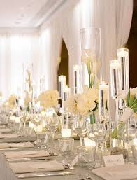 Long Table Centerpieces Long Table Wedding Centerpiece Ideas Photography Abby Jiu Deco