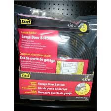 garage door seal replacement m d rubber replacement for garage door bottom 2 in x 16 ft