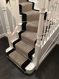 Sisal Stair Runner by Brintons Carpets Stripes Collection Humbug U0026 True Velvet Jet Stair