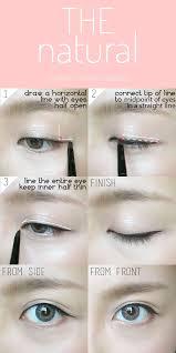 liquid eyeliner tutorial asian 307 best korean makeup images on pinterest asian makeup beauty