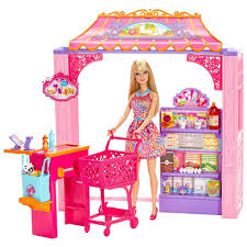 Barbie Dream Furniture Collection by Barbie Life In The Dreamhouse Grocery Store And Doll Playset