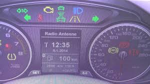 audi dashboard a5 audi q5 dashboard warning light symbol lamps what they mean youtube
