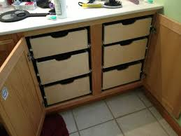 Kitchen Cabinet Rollouts Kitchen Brilliant Storage Cabinet Rollouts Family Handyman Drawers