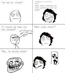 Le Me Memes - le me at class