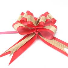 ribbon bows 50mm 850mm pull flower ribbon bow christmas birthday party gifts