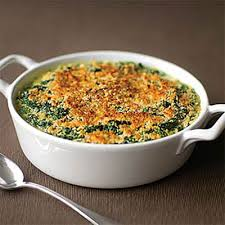 23 great thanksgiving vegetable dishes spinach gratin creamed