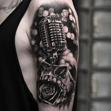 14 chic tattoo designs microphone tattoo designs tattoo