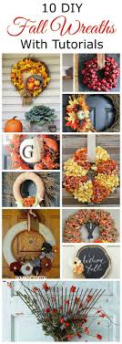 10 diy fall wreaths for your front door house of hawthornes