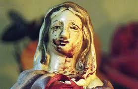 imágenes religiosas que lloran sangre virgen que llora sangre desde la iglesia aseguran que hay que