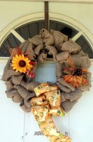 How To Make Wreaths How To Make A Burlap Wreath For Fall Southern Chik