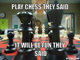 They Said Meme Generator - carlsen anand in tweets game 9 chess in tweets