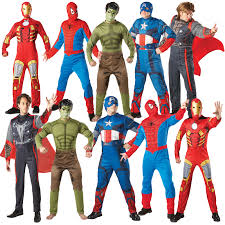 mens marvel avengers official adults licensed superhero