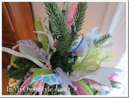 how to decorate a christmas tree with ribbons in my own style