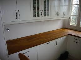 Jonction Plan De Travail Ikea by Poser Plan De Travail Cuisine Sur Idees Decoration Interieure Et