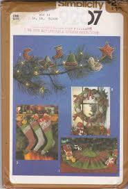 amazon com simplicity pattern 9207 stuffed christmas ornaments