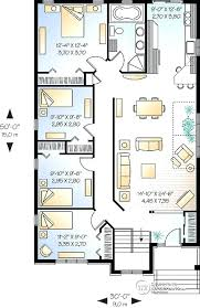 narrow lot plans simple four bedroom house plans level affordable simple four bedroom