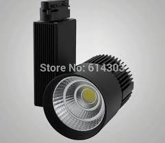 50w cob track light with high quality light spot for shop department