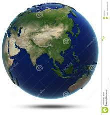 Asia World Map by Asia World Map Royalty Free Stock Image Image 35543066
