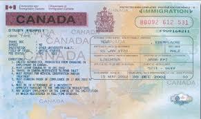 bureau des visas canada liste des documents pour un permis d étude pour le canada tunisie visa