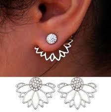 front back earrings front back earrings online pearl front back earrings for sale