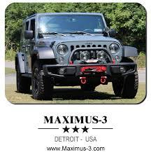 jeep rubicon winch bumper maximus 3 winch mount installation u0026 review offroaders com