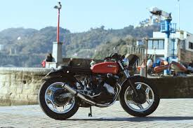 honda 400 honda cbx400 custom by cafe racer sspirit u2013 bikebound