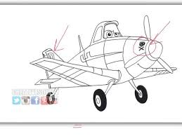 how to draw dusty from disney u0027s animated movie planes snapguide