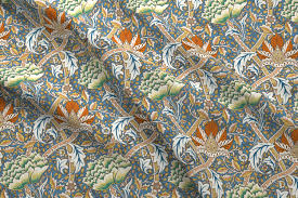 william morris windrush fabric chantal pare spoonflower