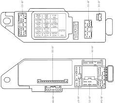 fuse box diagram mazda 323 fuse wiring diagrams instruction