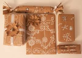 christmas kraft wrapping paper chalkboard painted wrapping paper colors and craft