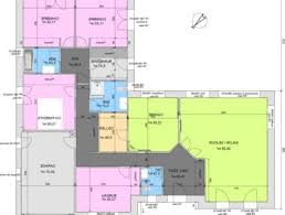 plan maison gratuit plain pied 3 chambres lovely plan de maison moderne gratuit 2 maison architecte top