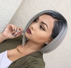 20 trendy gray hairstyles gray hair trend balayage hair