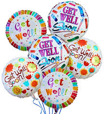 balloons get well soon get well soon balloon bouquet columbus oh same day delivery