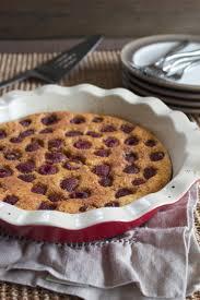 raspberry clafoutis flaugnarde grain free