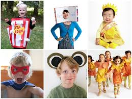 Handmade In Costume - 14 diy no sew kid costumes