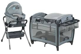 pack n play with changing table care station playards graco