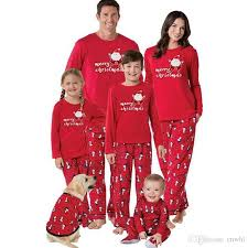 2017 family matching pajamas pjs sets