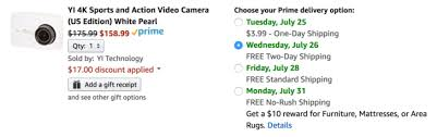 amazon black friday coupon 2012 deal alert get a yi 4k action camera for 158 99 90 off on