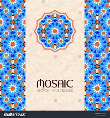 Morroco Style by Mosaic Traditional Moroccan Style Abstract Vector Stock Vector