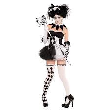 new jesterina tricksterina harley quinn halloween cool clown fancy